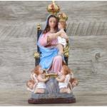 Imagem Resina - Nossa Senhora de Monte Serrat 20 cm