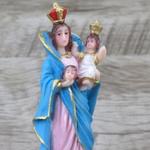 Imagem Resina : Nossa Senhora da Cabeça 15 cm