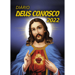 Diário Deus Conosco 2022 - Sagrado Coração - Cristal