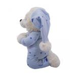 Urso Pelúcia - Reza Pai Nosso - Azul Claro
