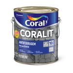 CORAL CORALIT ANTIFERRUGEM PRETO 3,6L