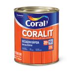 CORAL CORALIT SECAGEM RAPIDA ACETINADO BRANCO 0,900ML