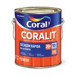 CORAL CORALIT SECAGEM RAPIDA BRILHANTE AZUL MAR 3,6L