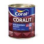 CORAL CORALIT ULTRA RESISTENCIA FOSCO PRETO 0,900ML