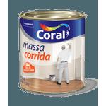 CORAL MASSA CORRIDA BRANCO 1,5KG
