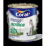 CORAL MASSA ACRILICA BRANCO 6KG