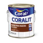 CORAL MASSA PARA MADEIRA BRANCO 6KG
