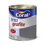 CORAL GRAFITE CINZA ESCURO 0,900ML