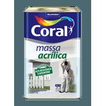 CORAL MASSA ACRILICA BRANCO 25KG