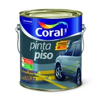 CORAL PINTA PISO CINZA ESCURO 3,6L