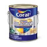 CORAL PROTECAO SOL & CHUVA PINTURA IMPERMEABILIZANTE BRANCO 3,6L
