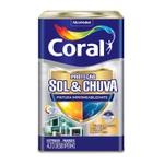 CORAL PROTECAO SOL & CHUVA PINTURA IMPERMEABILIZANTE BRANCO 18L
