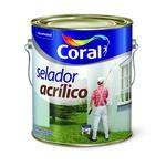 CORAL SELADOR ACRILICO BRANCO 3,6L