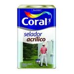 CORAL SELADOR ACRILICO BRANCO 18L