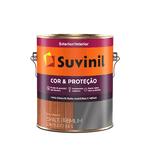 SUVINIL ESMALTE COR E PROTECAO FOSCO PRETO 3,6L