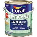 CORAL RENOVA AZULEJOS BASE AGUA ACETINADO BRANCO 3,2L