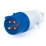 Plug Lukma 3P+T 32A 220-240V 9H Azul