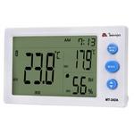Relógio Termo-Higrômetro com Sensor Externo Minipa - MT242A