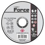 Disco de Corte Carbo Force 115 x 1,0 x 22,23 mm