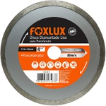 "Disco Diamantado Liso Porcelanato Foxlux – 4 3/8"" – 110 x 20mm"