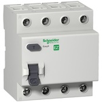 Disjuntor Diferencial Residual Tetrapolar 30Ma 63A 415VAC - EZ9R33463 - Schneider