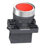Botão 22mm Plástico Pulsador Amarelo 1NF XA2EA42 Schneider