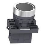Botão 22mm Plástico Pulsador Preto 1NA XA2EA21 Schneider