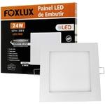 Painel LED de Embutir Quadrado 24W Bivolt - FOXLUX-LED9053