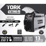 Máquina De Solda Inversora Supertork Touch 250a IMTES-12250 220v 3x1 (MIG-TIG LIFT-MMA)