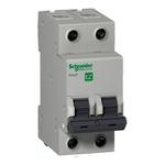 Disjuntor Mini Bipolar 50a 400VCA C 3ka EZ9F33250 - SCHNEIDER