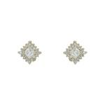 Brinco Zircônia Lesprit 65008 Dourado Cristal