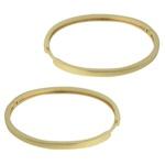 Brinco Argola Metal Lesprit 19K150471 Dourado Liso