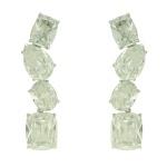 Brinco Zircônia Lesprit LB12461WCL Ródio Cristal