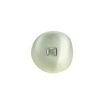 Brinco Piercing de Pressão Zircônia Lesprit LB23611 Ródio Cristal