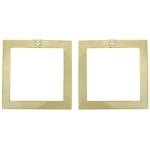 Brinco Metal Lesprit BOSTF31681 Dourada Cristal