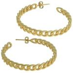 Brinco Elos Corrente Metal Lesprit 68120371 Dourado