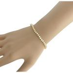 Pulseira Riviera Zircônia Lesprit U19A110351 Dourado Cristal