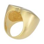 Anel Coração Metal Lesprit 00055 Dourado