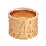 Anel Pai Nosso Metal Lesprit 00030 Rosé Fosco