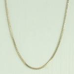 Colar Riviera Zircônia Lesprit HSC4681 Dourado Cristal