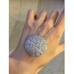 Colar Zircônia Lesprit LC03861WRH Ródio Cristal