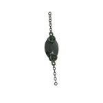 Colar Zircônia Lesprit LC02901BOBK Ródio Negro Preto