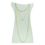 Colar Zircônia Lesprit 2351-92303GL Dourado Cristal