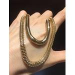Colar Corrente Metal Lesprit 5231 Dourado