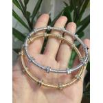 Pulseira Bracelete Zircônia Lesprit 60096431 Ródio Cristal