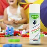 Higienizador de Superfícies - Aerossol Álcool 70% - Bioclub