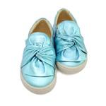 Tênis Slip On Infantil Feminino Vitória - Perolado Azul