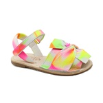 Sandália Infantil Feminino Ariane - Tie-Dye Neon