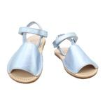 Sandália Infantil Feminino Beatrice - Metal azul bebê