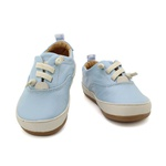 Tênis Infantil Masculino Gael - Azul Bebê/ Off White